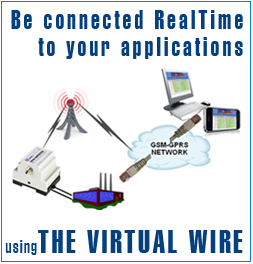 Be connected RealTime to your applications using the Virtual Wire